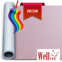 Стеклообои Wellton Decor Бабочки WD830 1*12,5м