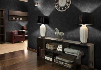 Стеклообои Wellton Decor Барокко WD781 1*12,5м