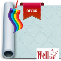 Стеклообои Wellton Decor Прованс WD782 1*12,5м