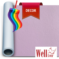 Стеклообои Wellton Decor Розы WD810 1*12,5м
